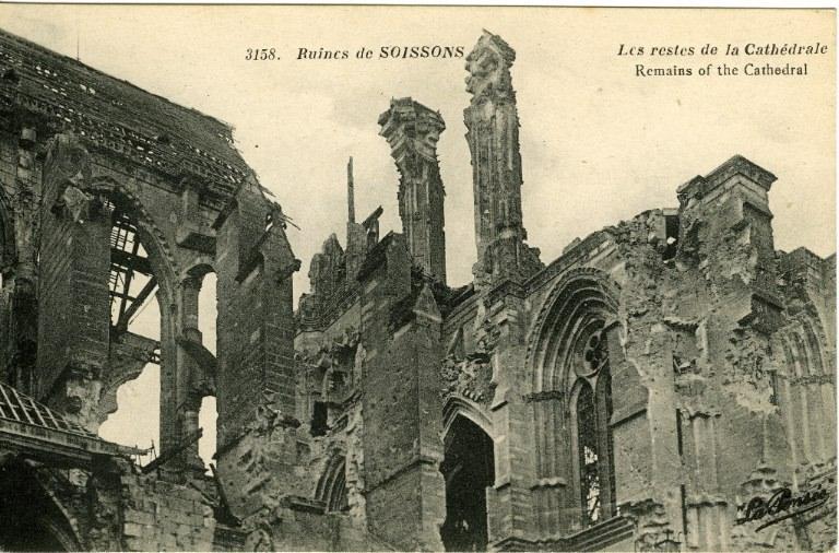 Ruines de Soissons - Les restes de la Cathédrale_0