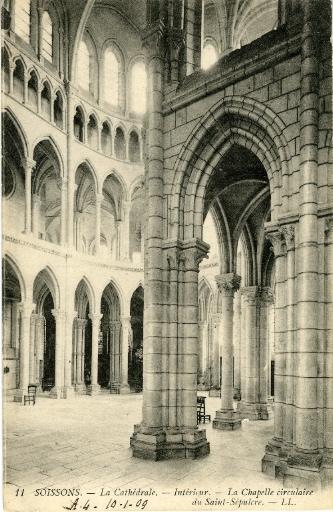 Soissons - Cathédrale - Intérieur - La Chapelle Circulaire du Saint-sépulcre_0