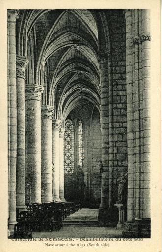 Soissons - Cathédrale - Déambulatoire du Côté Sud_0