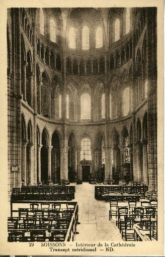 Soissons - Intérieur de la Cathédrale - Transept méridional_0