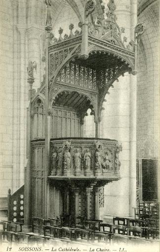 Soissons - La Cathédrale - La Chaire_0