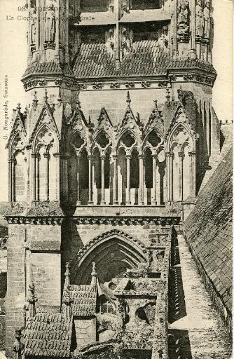 Soissons - Le Clocher de la Cathédrale_0