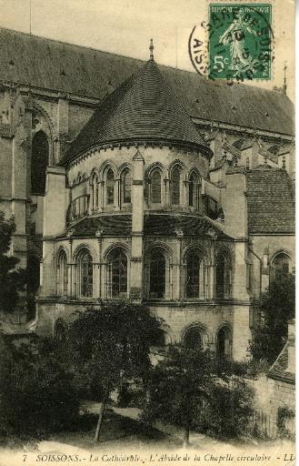 Soissons - Cathédrale - L'Abside de la Chapelle circulaire_0