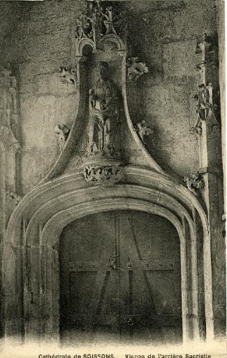 Cathédrale de Soissons - Vierge de l'arrière Sacristie_0