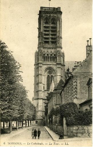 Soissons - La Cathédrale - La Tour_0