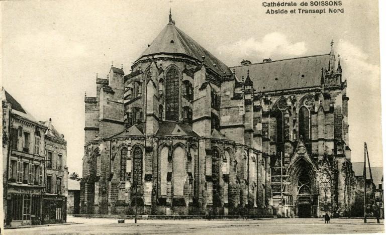 Cathédrale de Soissons - Abside et Transept Nord_0