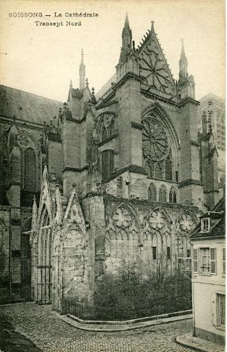 Soissons - La Cathédrale - Transept Nord