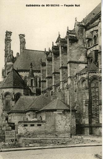 Cathédrale de Soissons - Façade Sud_0