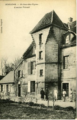 Soissons - Saint-Jean-des-Vignes - L'ancien Prieuré_0
