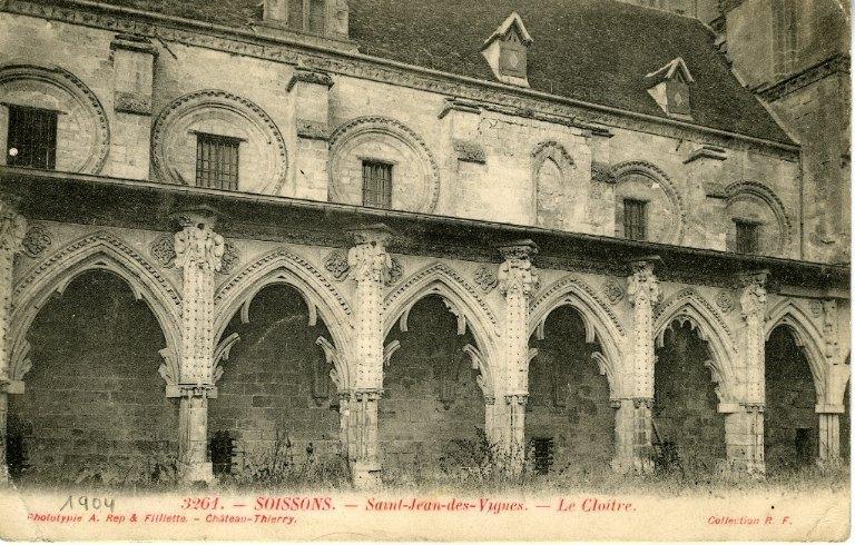 Soissons - Saint-Jean-des-Vignes - Le Cloître_0
