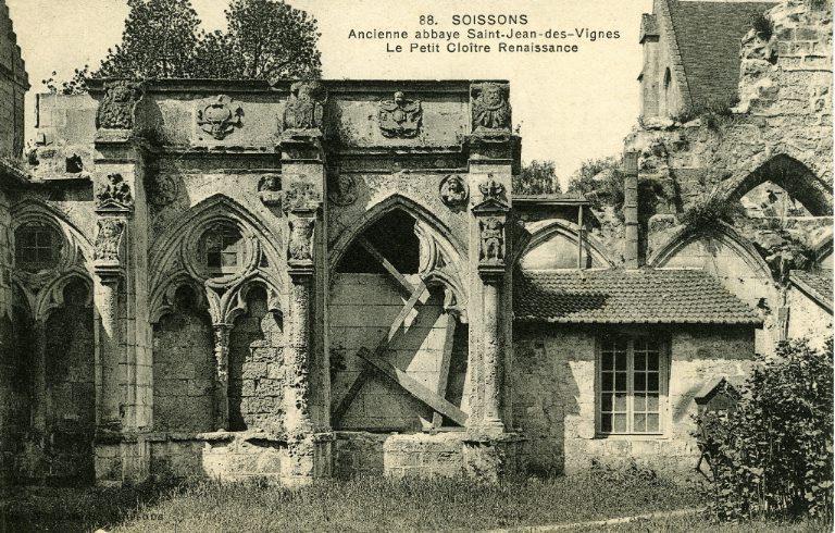 Soissons - Ancienne Abbaye Saint-Jean-des-Vignes - Le Petit Cloître Renaissance