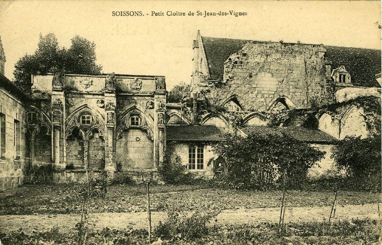 Soissons - Petit Cloître de Saint-Jean-des-Vignes_0