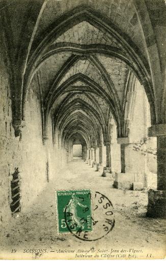 Soissons - Ancienne abbaye Saint-Jean-des-vignes_0