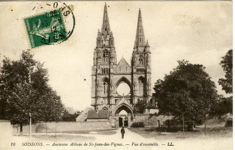 Soissons -Ancienne Abbaye Saint-Jean-des-Vignes - Vue d'ensemble_0