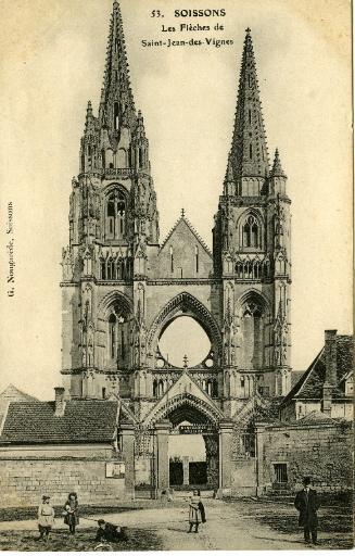 Soissons - Les Flèches de Saint-Jean-des-Vignes_0