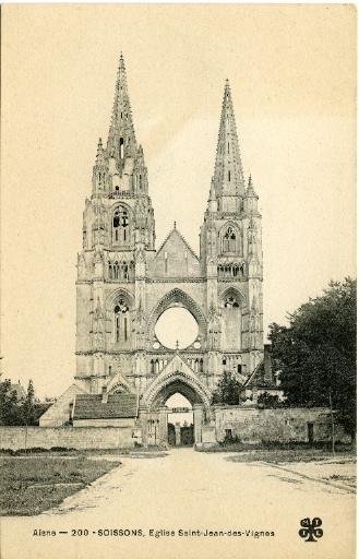 Soissons - Église Saint-Jean-des-Vignes