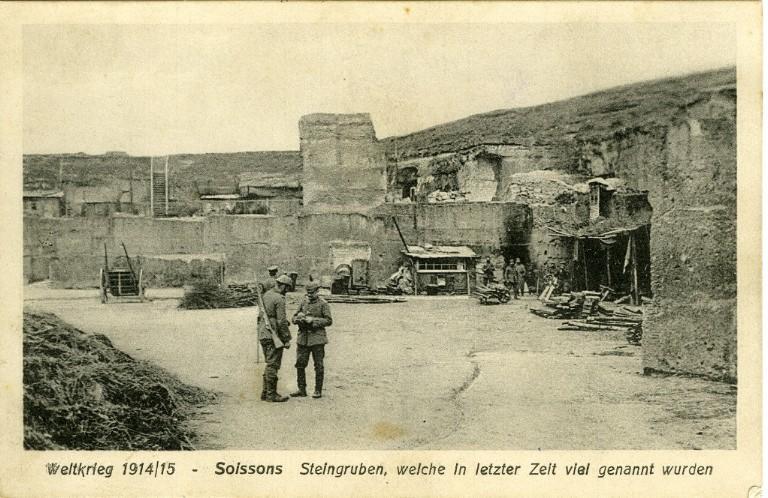 Weltkrieg 1914-1915 - Soissons - Steingruben, welche in letzter Zeit viel genannt wurden