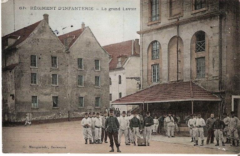 Soissons - Régiment d'Infanterie - Le grand Lavoir_0