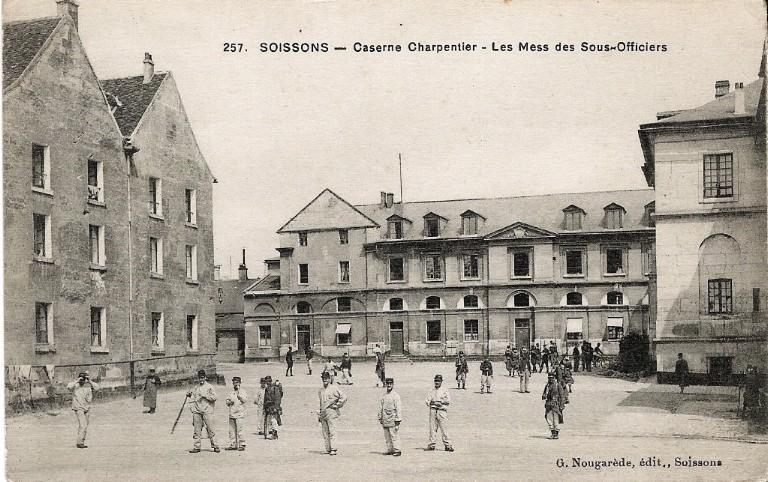 Soissons - Caserne Charpentier - Les Mess des Sous-Officiers_0