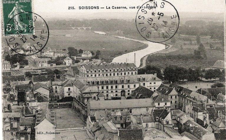 Soissons - La Caserne, vue d'ensemble_0