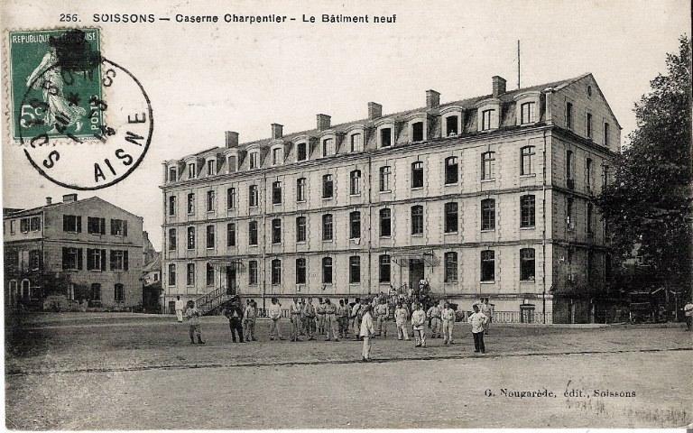 Soissons - Caserne Charpentier - Le Bâtiment neuf_0