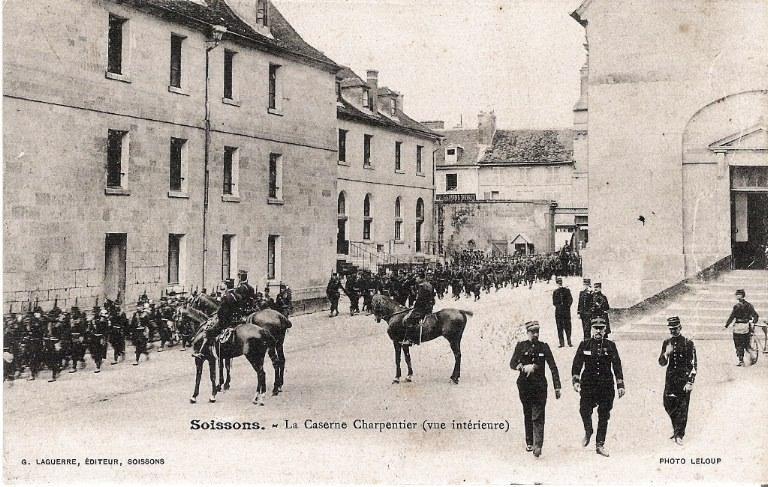 Soissons - La Caserne Charpentier (vue intérieure)_0