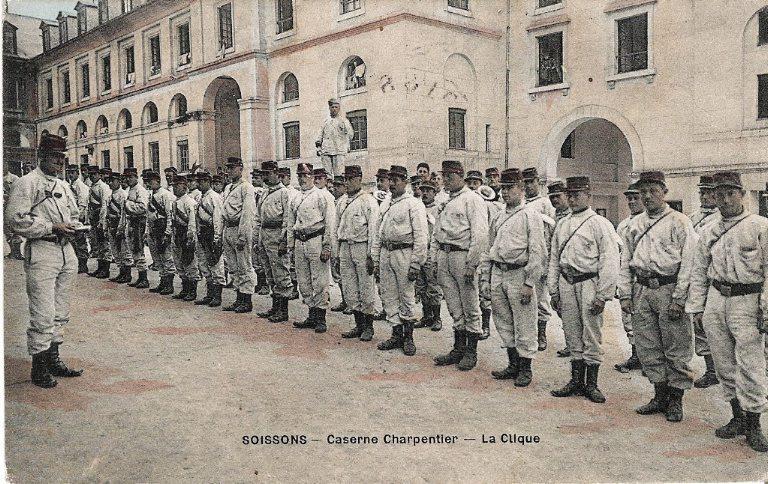 Soissons - Caserne Charpentier - La Clique