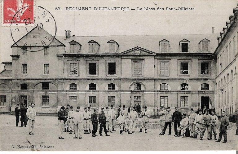 Soissons - Régiment d'Infanterie - Le Mess des Sous-Officiers_0