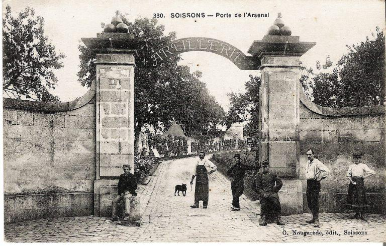 Soissons - Porte de l'Arsenal_0