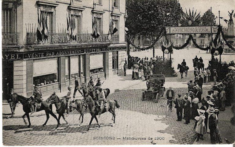 Soissons - Manoeuvres de 1906