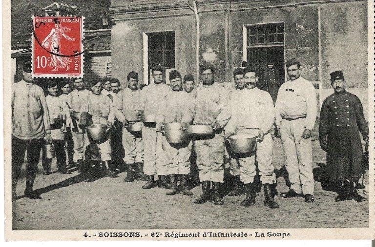 Soissons - 67e Régiment d'Infanterie - La Soupe_0
