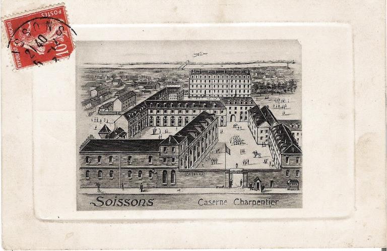 Soissons - Caserne Charpentier