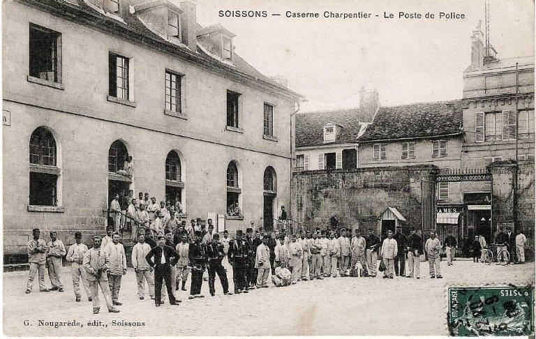 Soissons - Caserne Charpentier - Le Poste de Police_0