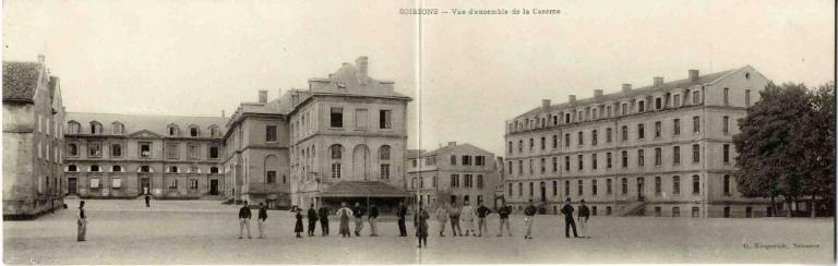 Soissons - Vue d'ensemble de la Caserne_0