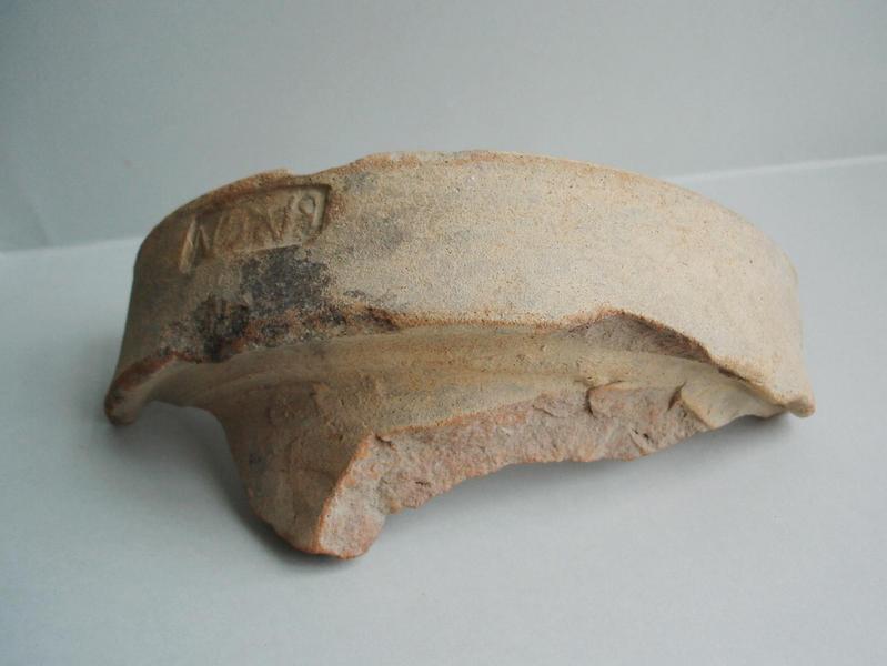 col, amphore (fragment)