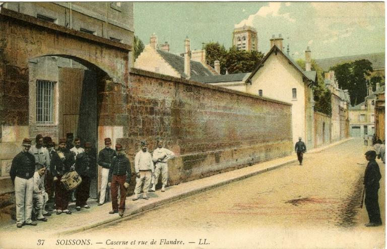 Soissons - Caserne et rue de Flandre_0