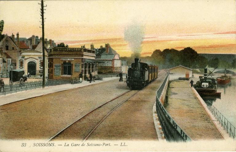 Soissons - La Gare de Soissons - Port_0