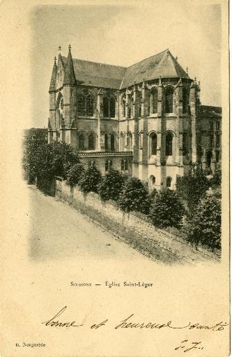 Soissons - Eglise Saint-Léger_0
