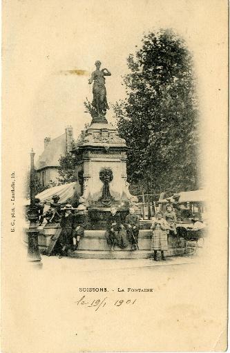 Soissons - La Fontaine_0