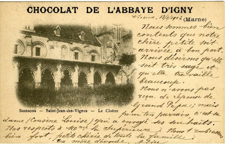 Soissons - Saint-Jean-des-Vignes - Le Cloître