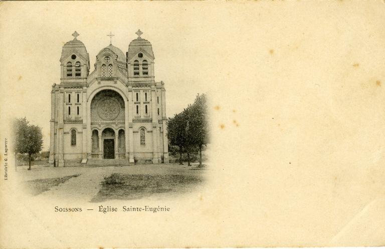 Soissons - Eglise Saint-Eugénie_0
