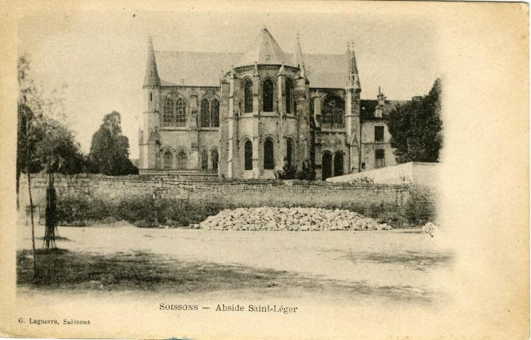 Soissons - Abside Saint-Léger