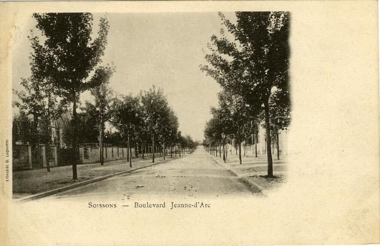 Soissons - Boulevard Jeanne d'Arc