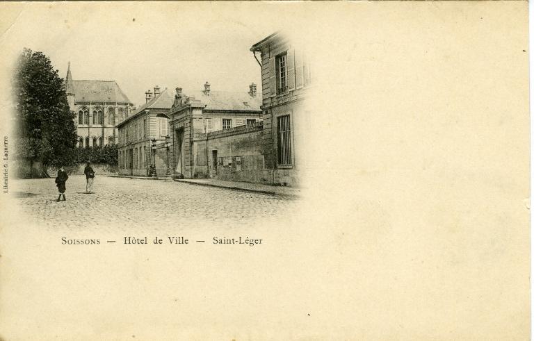 Soissons - Hôtel de ville - Saint-Léger_0