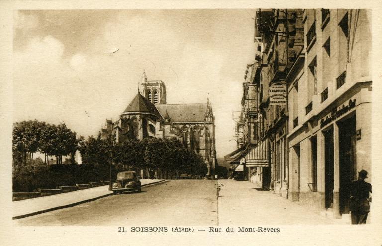 Soissons - Rue du Mont-Revers