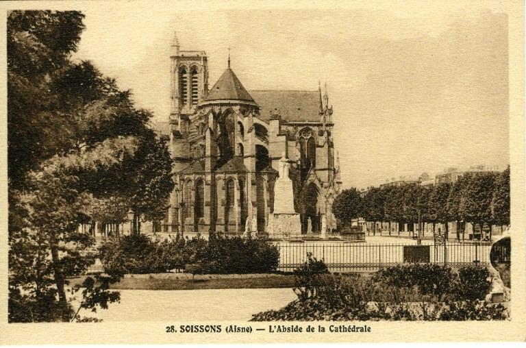 Soissons - Abside de la Cathédrale_0