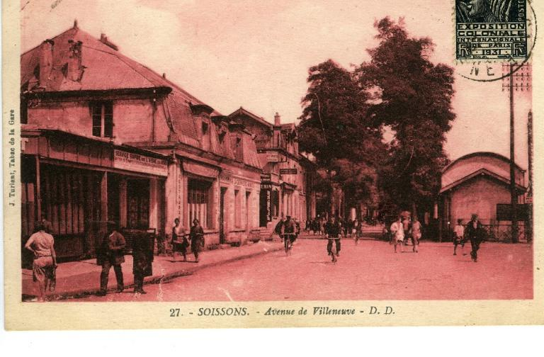 Soissons - Avenue de Villeneuve