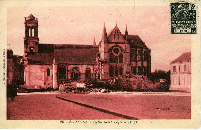 Soissons - Église Saint-Léger_0