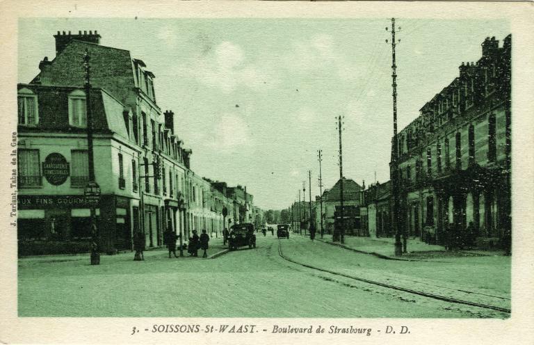 Soissons -Saint-Waast - Boulevard de Strasbourg_0