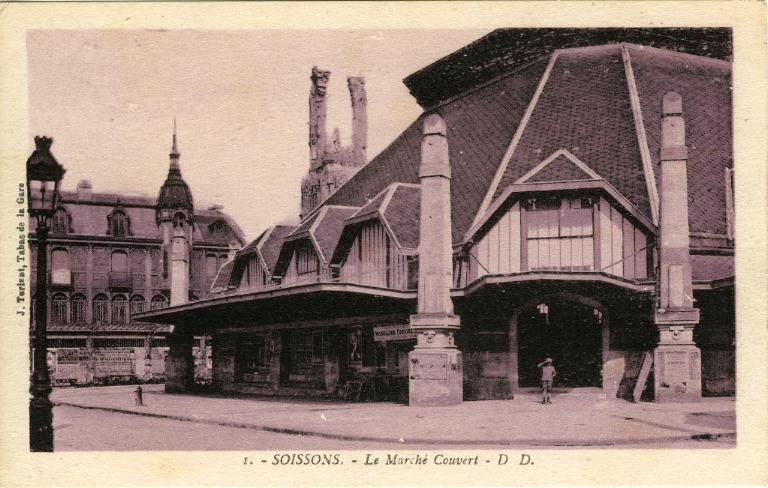 Soissons - Le Marché couvert_0